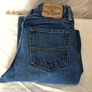 Abercrombie boys boot cut jeans size 12